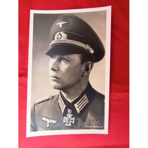 Major Niemack Postcard # 5609