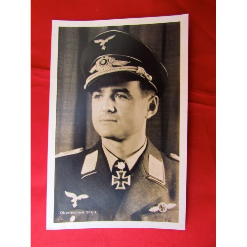 Oberleutnant Späte Postcard # 5621