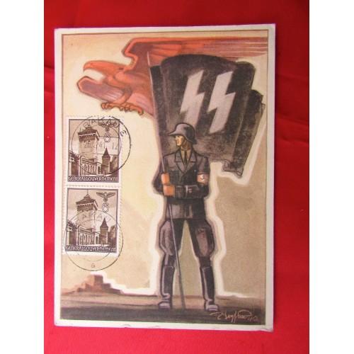 Tag der Deutschen Polizei 1941 Postcard # 5625