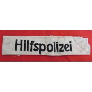 Hilfspolizei Cuff Title  # 5646