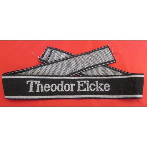 Theodore Eicke Cuff Title  # 5647