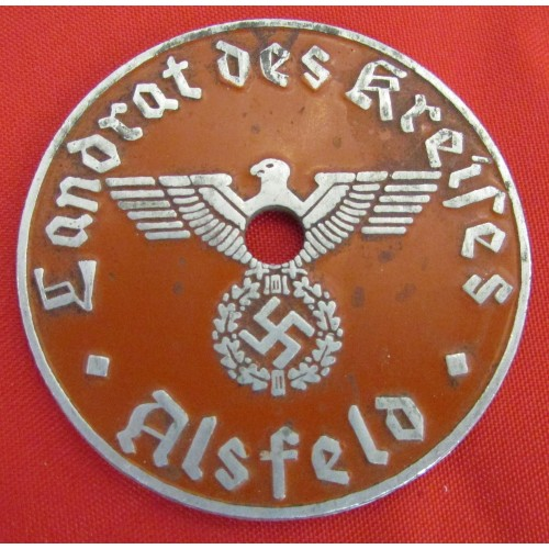 NSDAP License Plate Tag  # 5649