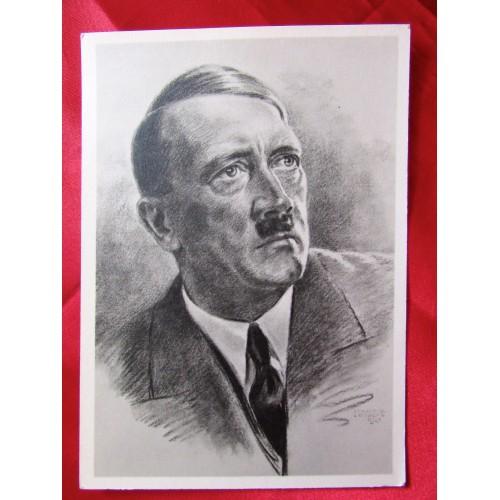 Adolf Hitler Postcard # 5675