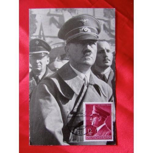 Adolf Hitler Postcard # 5681