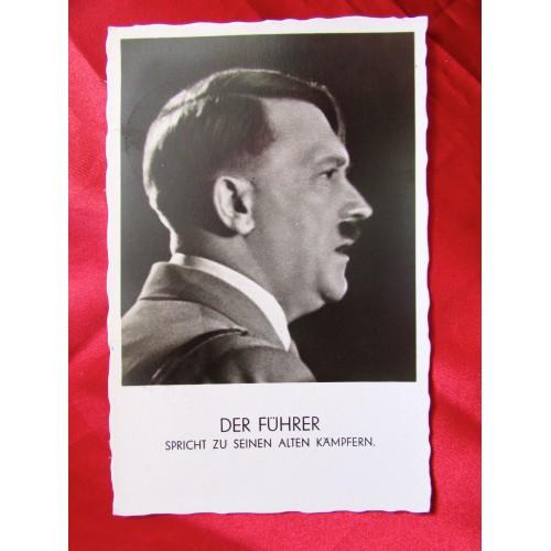 Adolf Hitler Postcard # 5683