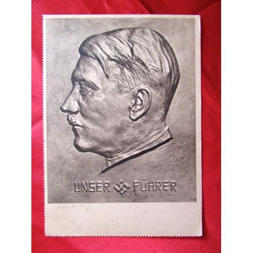 Adolf Hitler Postcard