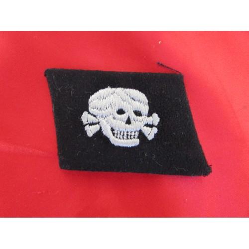 SS Totenkopf Dachau EM/NCO Collar Tab # 5720
