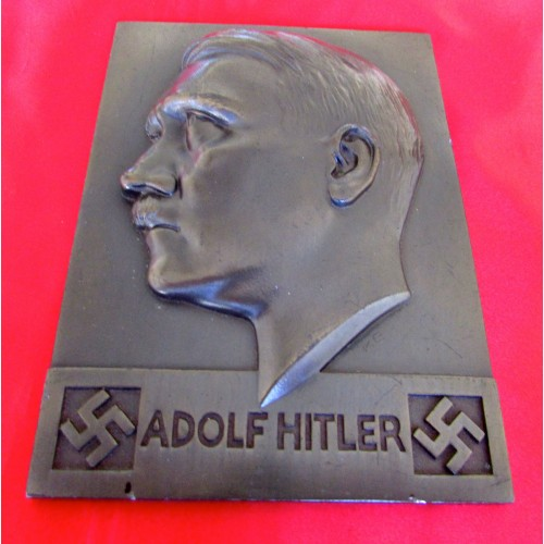Adolf Hitler Plaque # 5728
