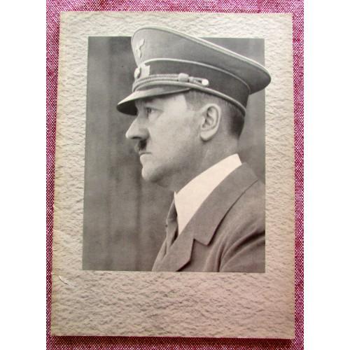 Unser Fuhrer Zum 50 Geburtstag Adolf Hitlers Am 20 April 1939