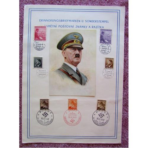 Erinnerungsbriefmarken u. Sonderstempel Pamētní Poštovní Známky A Razítka # 5749