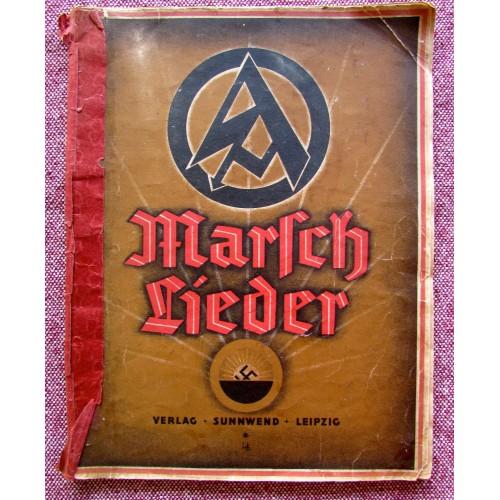 1933 SA Marsch Lieder Book # 5765