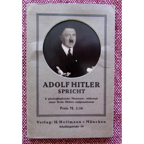 Adolf Hitler Spricht Postcards  # 5771
