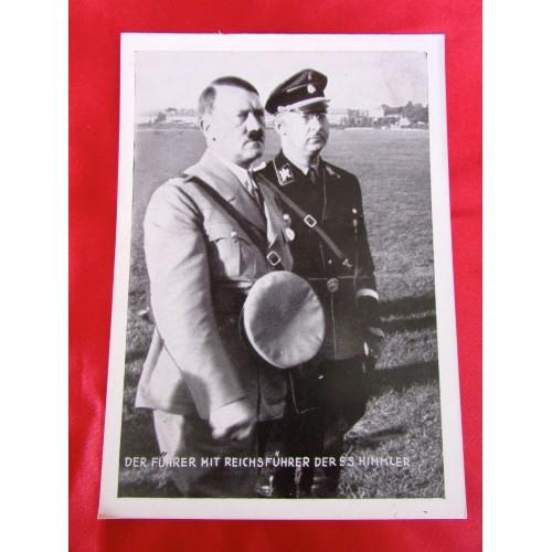 Hitler Himmler 1934 Reichsparteitag Postcard # 5801