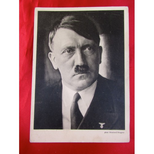 Adolf Hitler Postcard