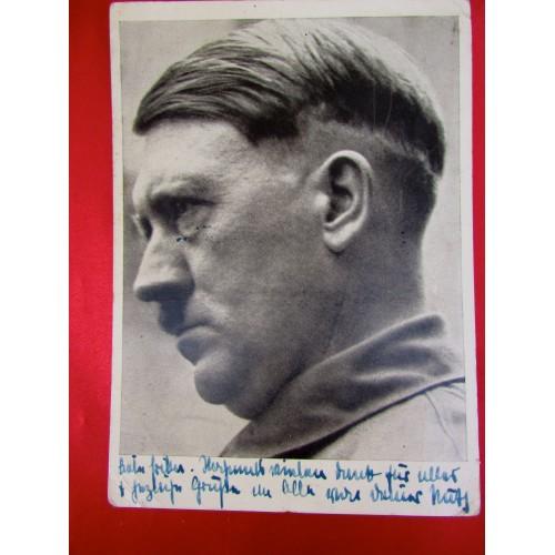 Hitler Postcard # 5841