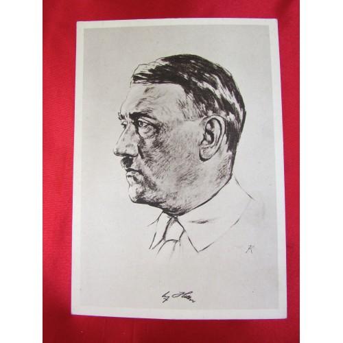 Adolf Hitler Postcard # 5850