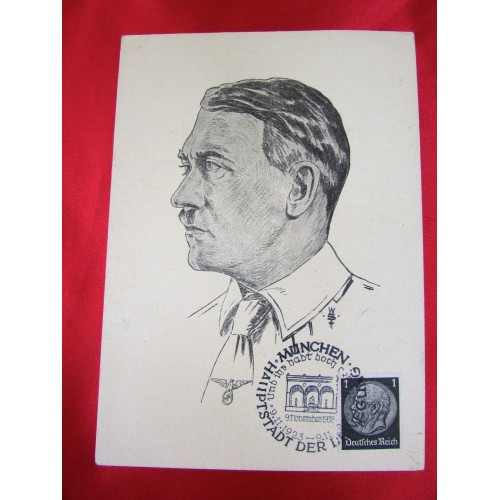 Adolf Hitler Postcard # 5870