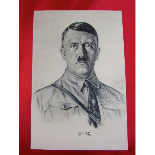 Adolf Hitler Postcard # 5878