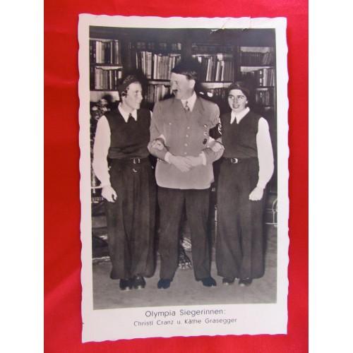 Hitler Olympia Siegerinnen Postcard # 5885