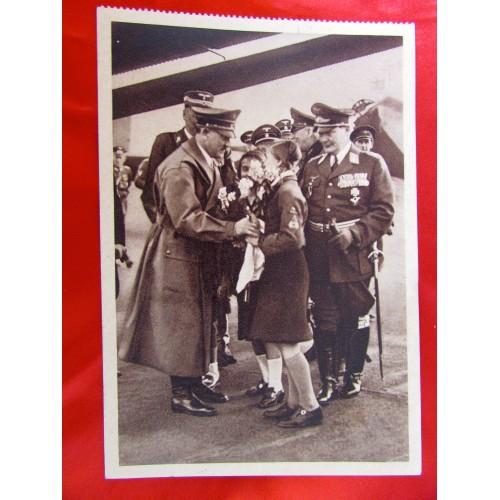 Hitler Göring Postcard # 5893