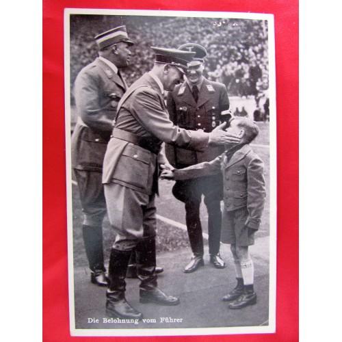 Die Belohnung vom Führer Postcard # 5898