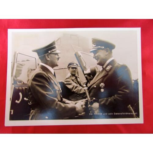 Hitler with Göring Postcard # 5900