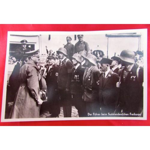 Karl Hennig Hitler Postcard # 5903