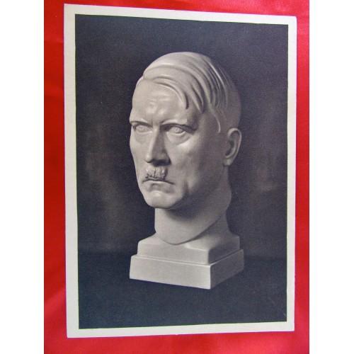 Der Führer Bust Postcard # 5904