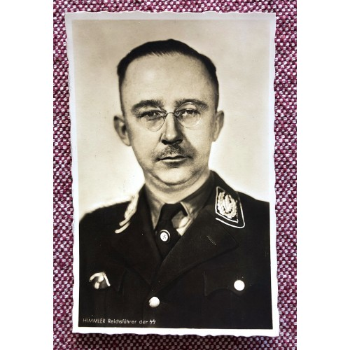 Himmler Reichsführer der SS Postcard # 5907