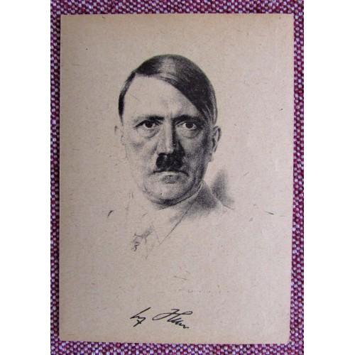 Adolf Hitler Postcard # 5922