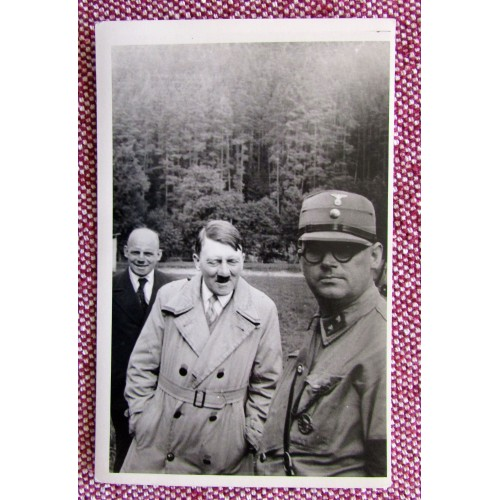 Hitler with SA Mann Postcard # 5928