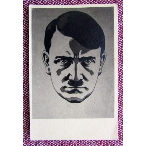 Adolf Hitler Postcard # 5937