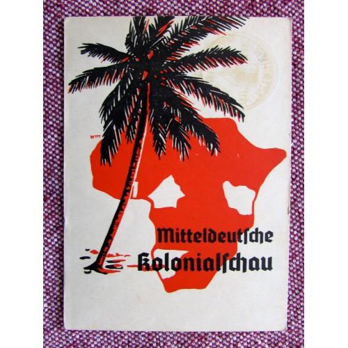 Mitteldeutsche Kolonialschau Postcard # 5951
