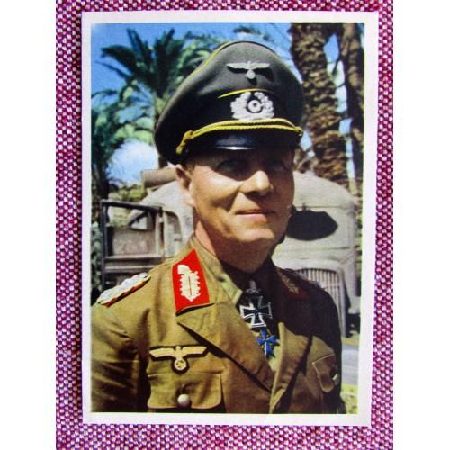 Mariscal Rommel Postcard