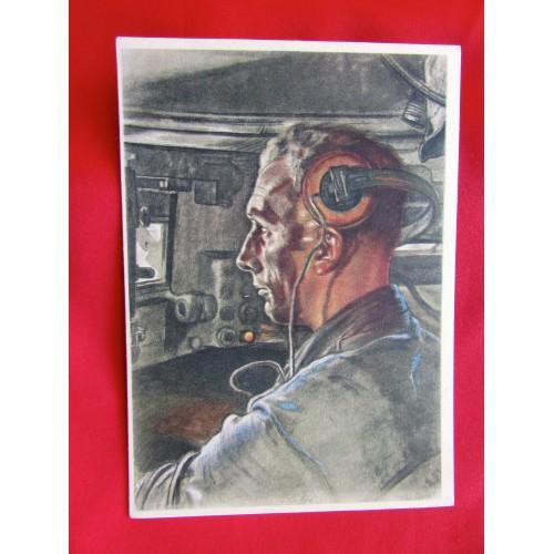 Der Panzerfahrer Postcard # 5967