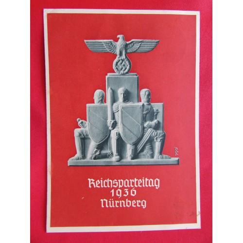 Reichsparteitage Postcard  # 5975