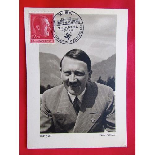Adolf Hitler Photo Hoffmann Postcard # 5986