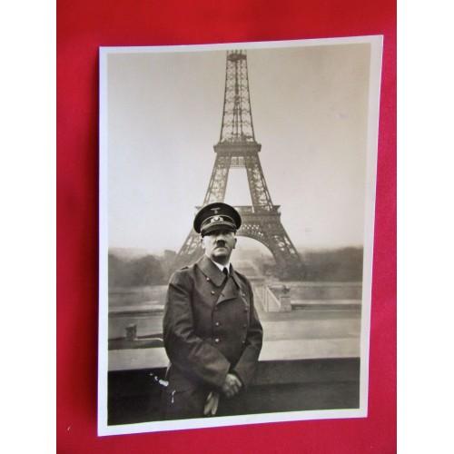 Hitler in Paris Postcard # 5987