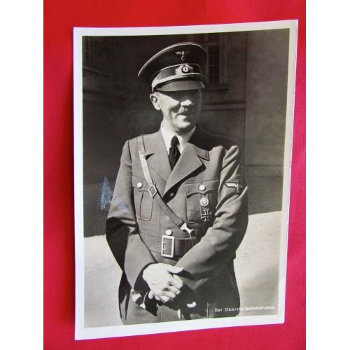 Der Oberste Befehlshaber Postcard # 5990
