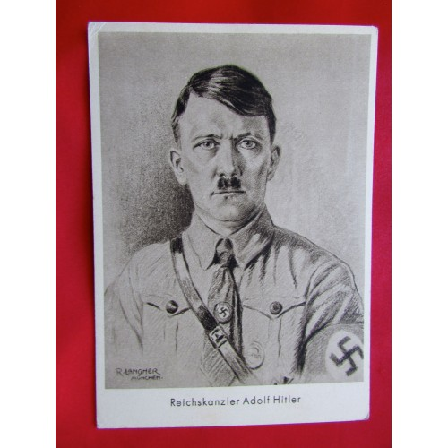 Reichskanzler Adolf Hitler Postcard # 5991