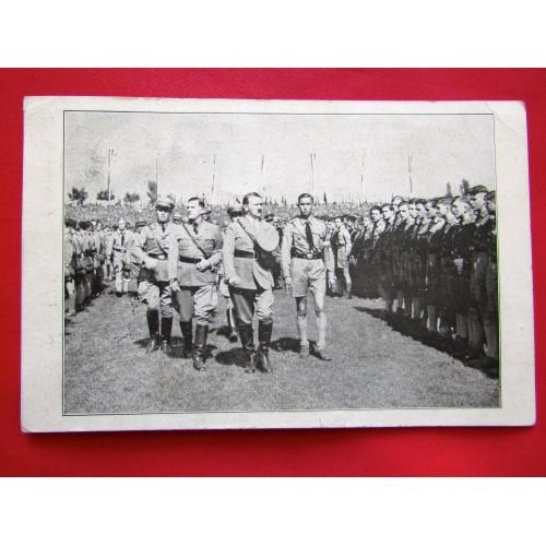 Zum Andenken an den Reichsparteitag 1934 der NSDAP zu Nürnberg Postcard # 5994