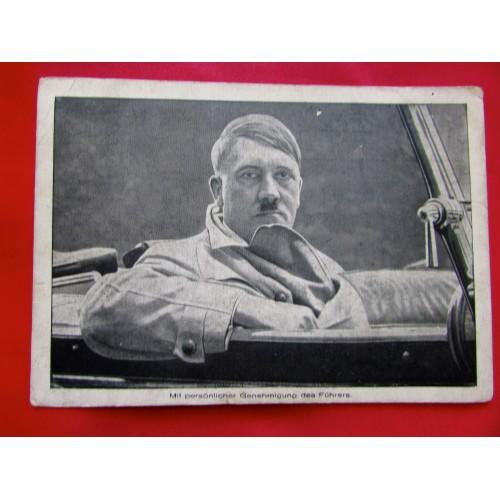 Mit persönlicher Genehmigung des Führers Postcard # 6010