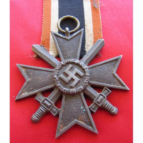 War Merit Cross 2nd Class with Swords # 6048