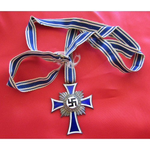 Mother's Cross in Silver # 6054