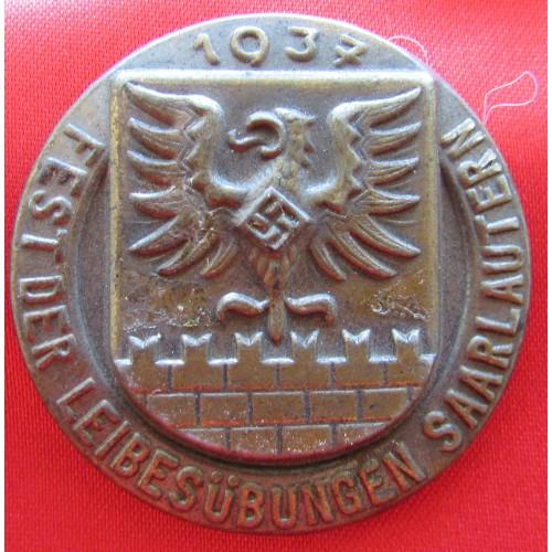 1937 Fest der Leibesübungen Saarlautern Tinnie # 6056