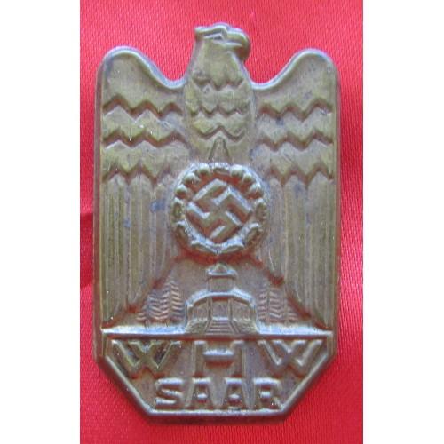 WHW Winterhilfswerk Saar Pin # 6058