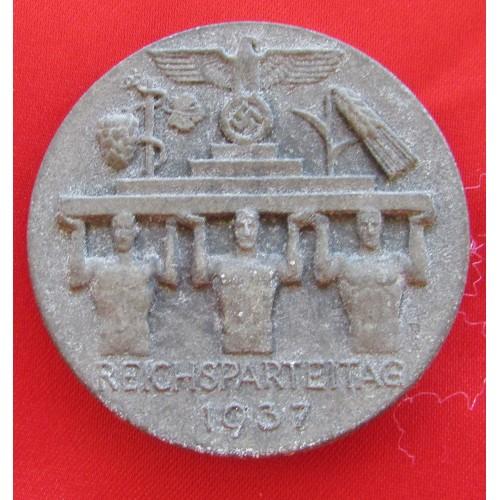 Reichsparteitag 1937 Tinnie # 6065