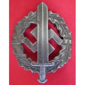 SA Sports Badge in Silver # 6079