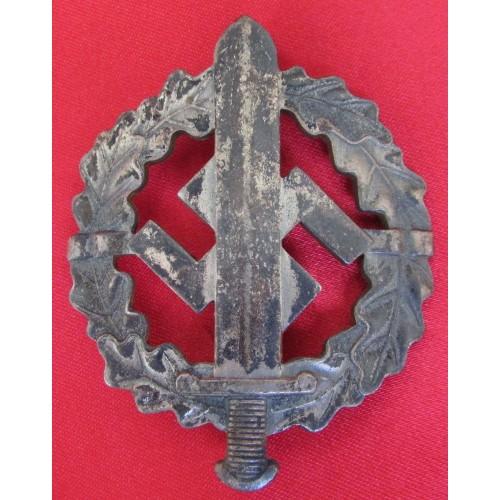 SA Sports Badge in Silver # 6080