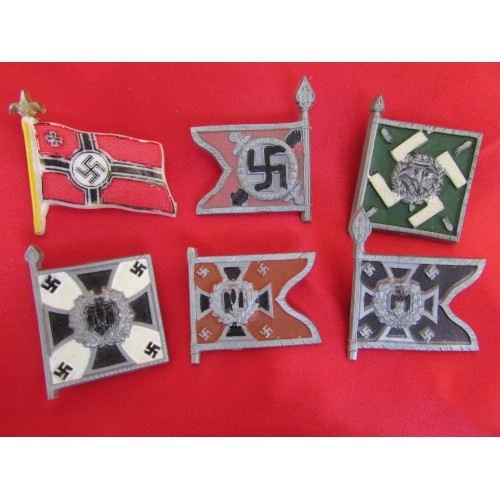 WHW War Relief Flag Badges # 6093